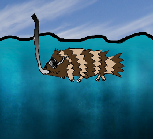Underwater Zigzagoon