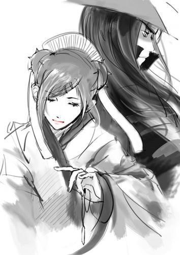 Uzumaki Mito & 1st Hokage