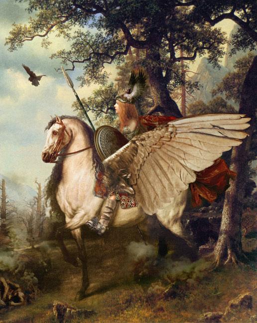 Valkyrie Maiden - Norse mythology Photo ...