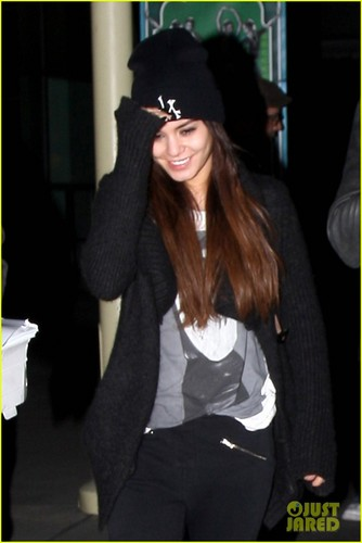 Vanessa - Leaves ArcLight Cinemas in Hollywood - April 02, 2013