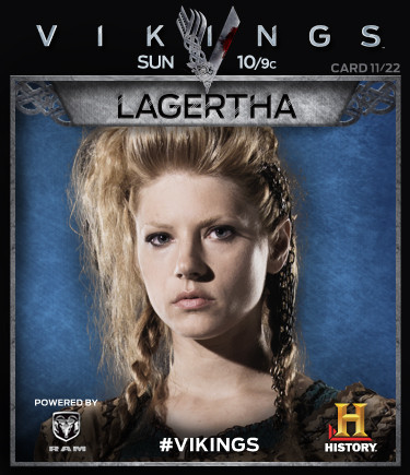 Vikings Collectable Cards 11