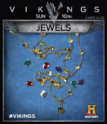 Vikings Collectable Cards 14