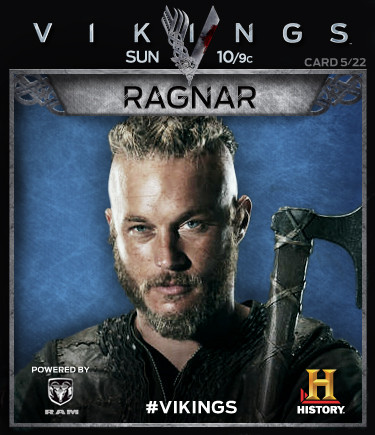 Vikings Collectable Cards 5