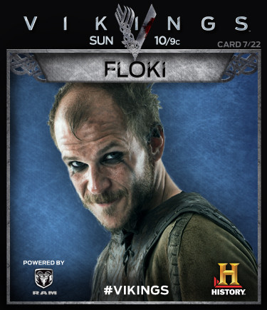 Vikings Collectable Cards 7