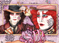 Ville and Johnny - johnny-depp fan art