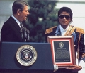 Visiting The White House Back In 1984 - michael-jackson photo