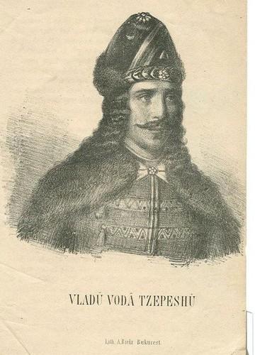 Vlad Tepes Dracula original portrait famous romanian people men romanians