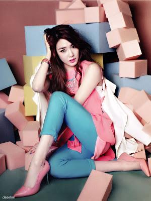 Vogue Girl March 2013 Tiffany ^^
