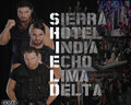WWE THE SHIELDS Hintergrund 2013