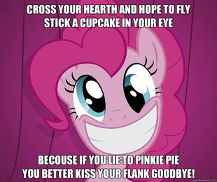 Why oh why, Pinkie Pie?