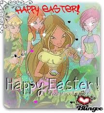 Winx club: Happy Easter day!