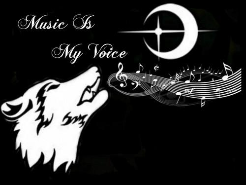 serigala, wolf Singing 1