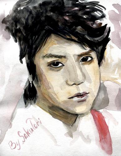 YoSeob 由 SakuTori watercolour