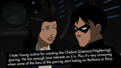 Zatanna and robin??