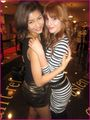 Zendaya and Bella Hugging! &lt;3 - zendaya-and-bella-thorne photo