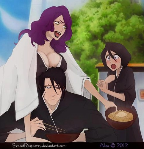 Bleach anime achtergrond titled Zero boobs XD