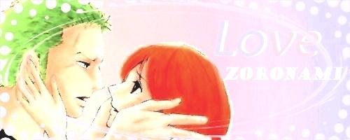 Zoro Nami Amore