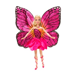 Barbie Movies wallpaper entitled barbie mariposa 2