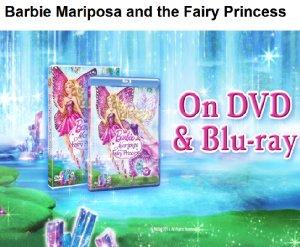 Барби mariposa and the fairy princess
