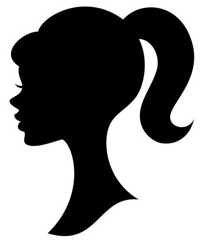 Barbie silhouette