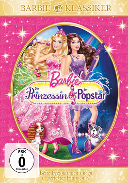 Filem Barbie kertas dinding with Anime titled Barbie the princess and the popstar classic movie