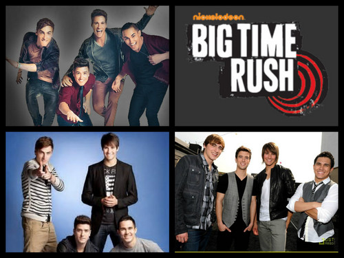 Big Time Rush wolpeyper probably containing a business suit, a concert, and anime titled big time rush <3