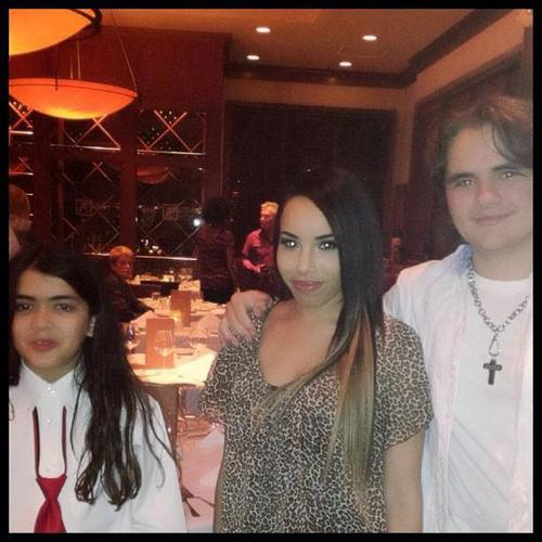 blanket jackson and prince jackson with a shabiki new april 2013