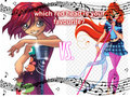 bloom vs will - the-winx-club fan art