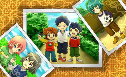 childhood pictures... also when kirino had a nicer hair.