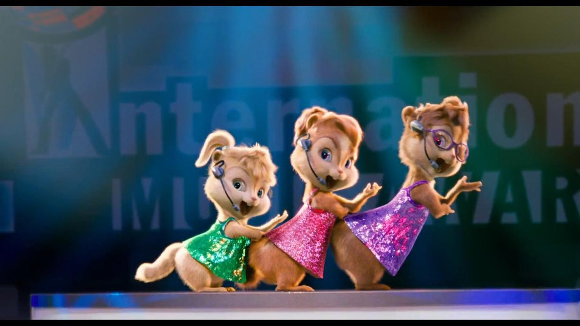 Alvin And The Chipmunks Theodore And Eleanor Wallpaper Chipettes born this wa...
