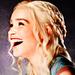 daenerys targaryen smiling