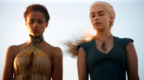 Daenerys Targaryen wallpaper called dany and missandei