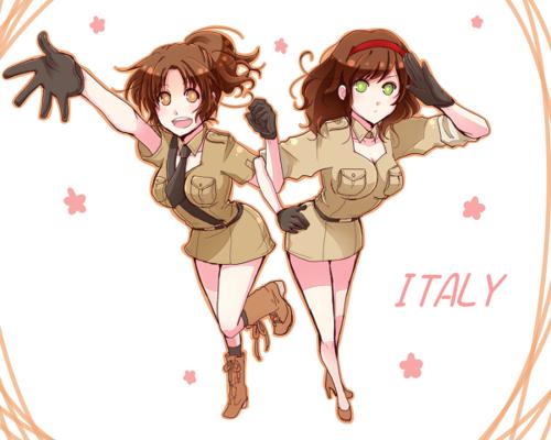 fem! italy and fem! romano