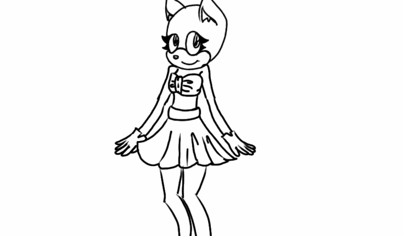 girl in dress base