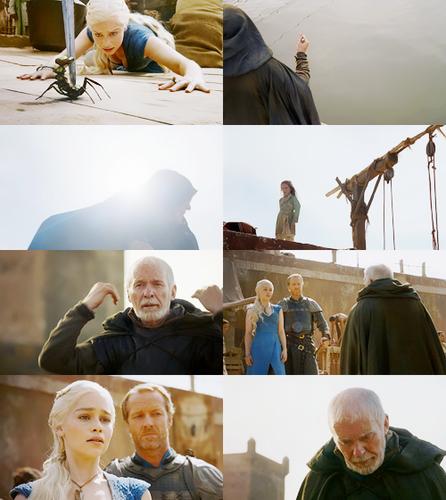 Barristan Selmy & Daenerys Targaryen