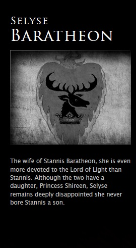Selyse Baratheon
