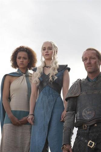 Missandei, Daenerys Targaryen & Jorah Mormont
