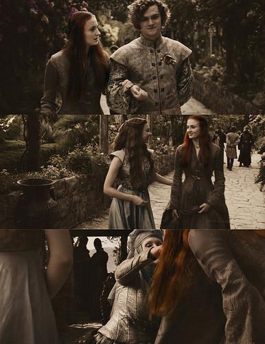 Sansa Stark & House Tyrell