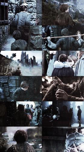 Arya Stark + faceless