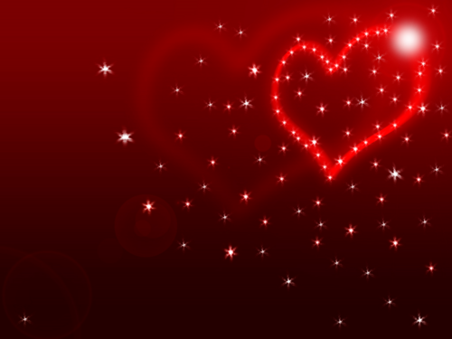 hati, tengah-tengah