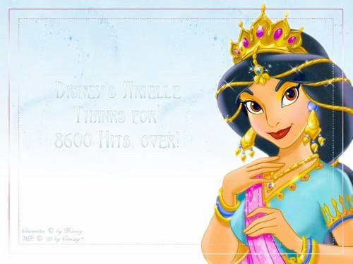 jasmine's magical look