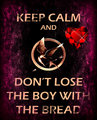 keep calm  - the-hunger-games fan art