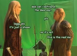 legolas and dad