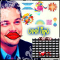 leo and cool lips - leonardo-dicaprio fan art