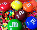 m&m's  - food photo