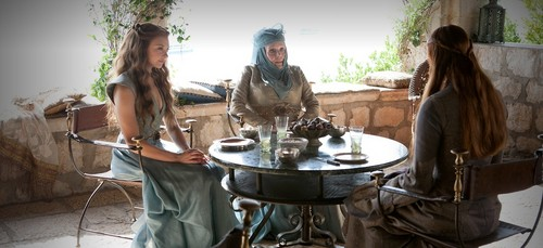 margaery and olenna with sansa