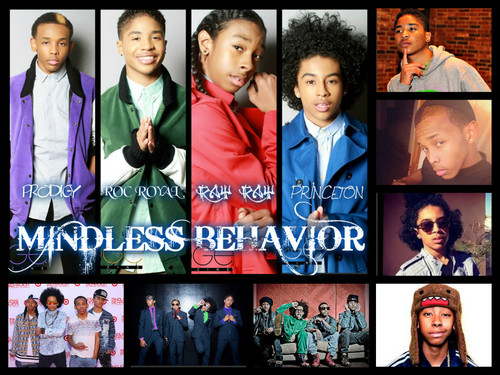 Mindless Behavior wallpaper entitled mb collage
