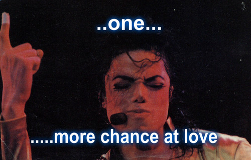 michael jackson one meer chance