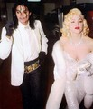 michael jacskon and Madonna - michael-jackson photo