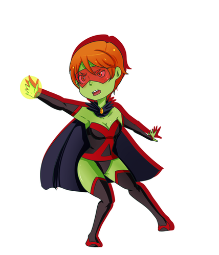 Young Justice wallpaper called miss martian
